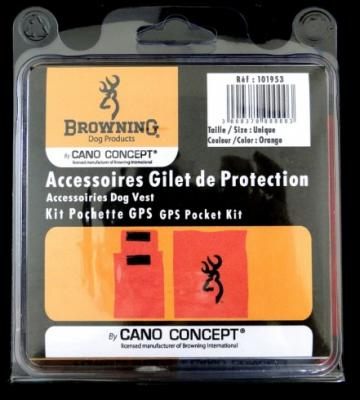 Kit pochette GPS / bipper browning cano concept