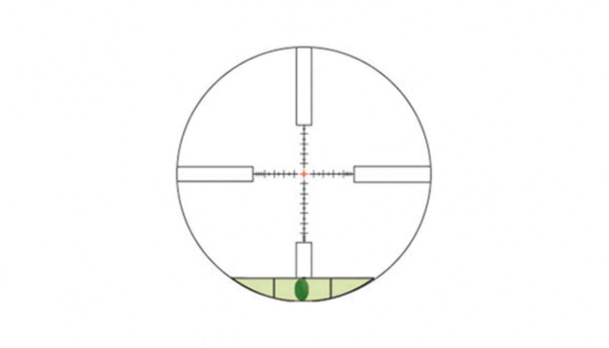 Lunette konus f30 6 24x52 reticule 30 30 lumineux niveau bulle - Tube a bulle lumineux ...