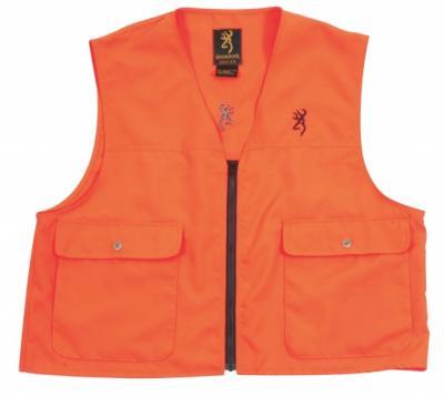Gilet de sécurité x-trem tracker orange fluo Browning