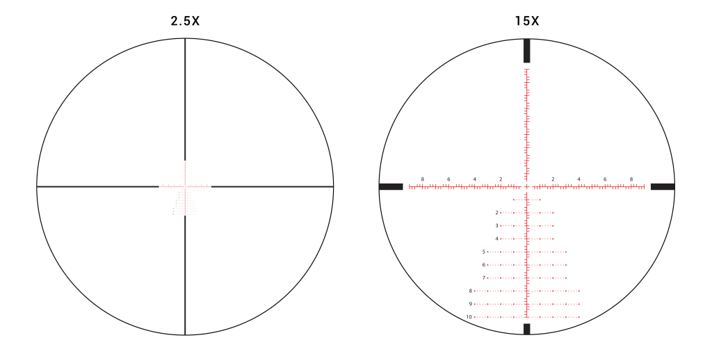 athlon réticule APLR3 MRAD