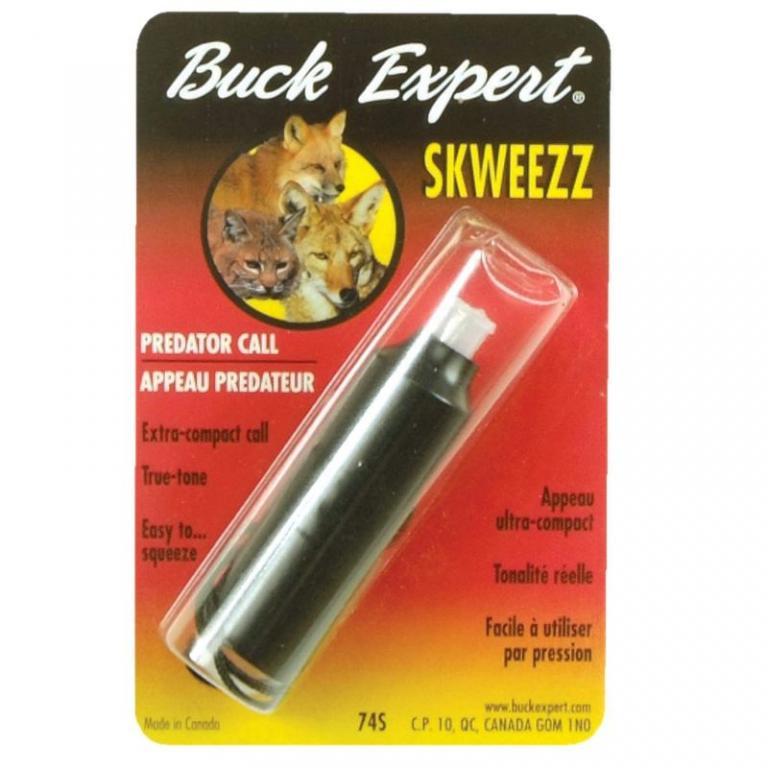Appeau souris pour renard Buck expert