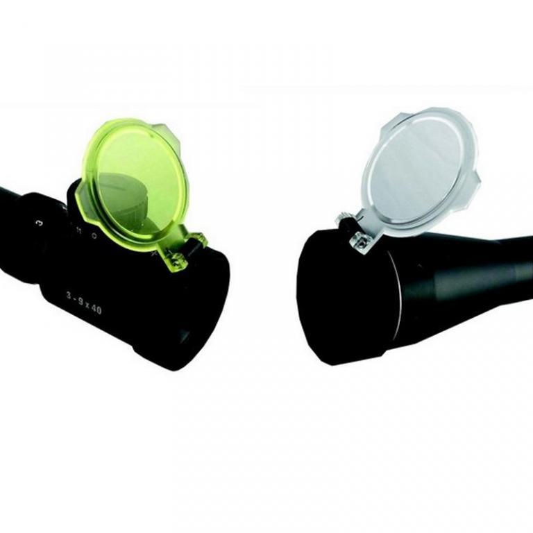 Bonnette transparente X 2