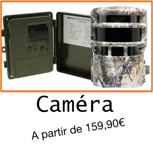 Camera chasseur et compagnie