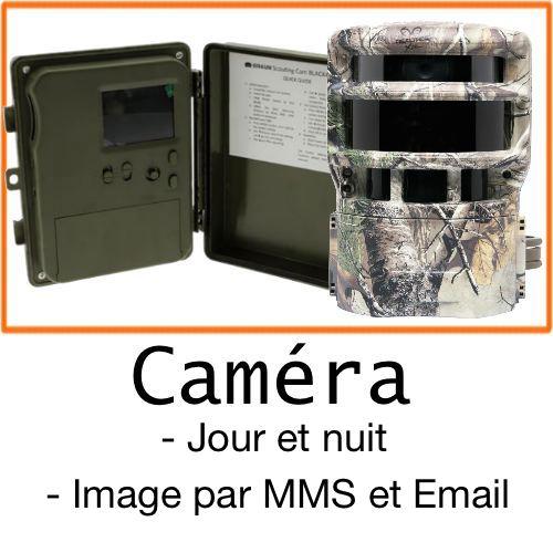 Camera de surveillance exterieure chasse maison