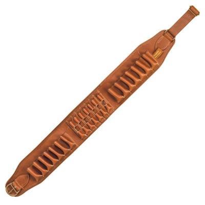 Cartouchière mixte en cuir Country sellerie