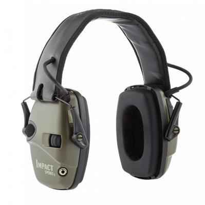 Casque e lectronique impact sport bilsom atte nuation snr 25h 24 db compatible avec le port de lunettes de protection