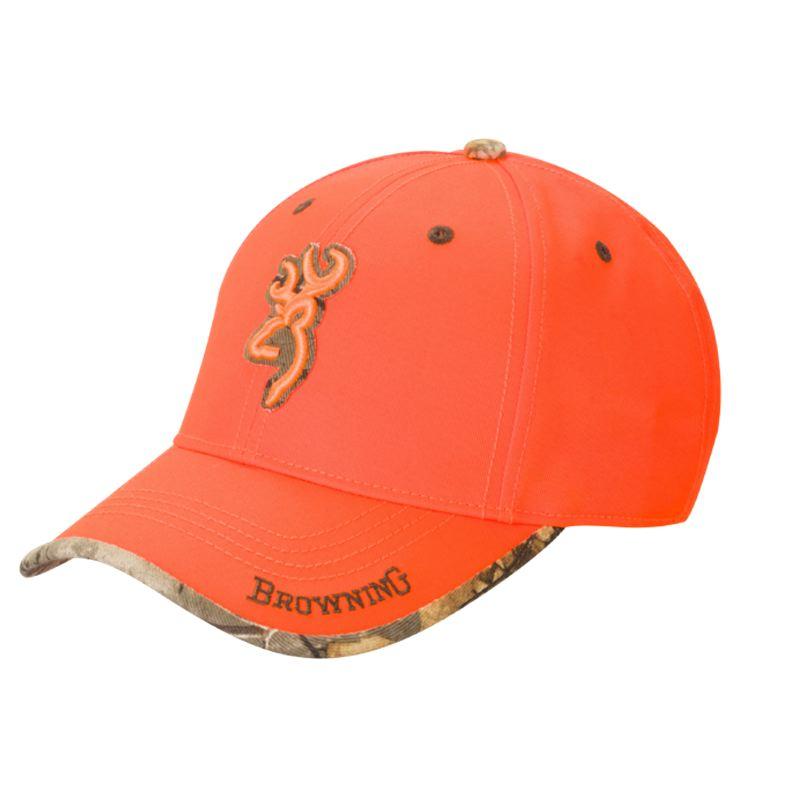 Casquette browning sureshot blaze orange pas che re chasse