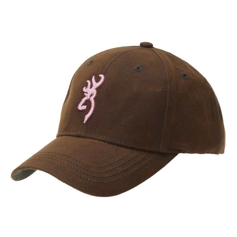 Casquette de chasse pour femme browning durawax lady brun