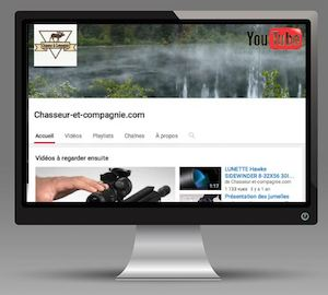 Chaine youtube chasseur et compagnie