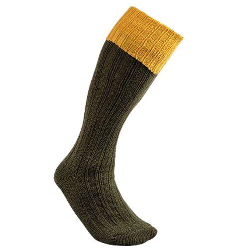 Chaussette knickers en laine chaude club interchasse natun jaune