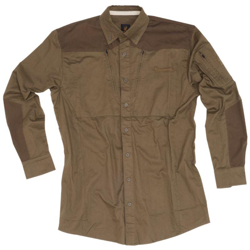 Chemise de chasse browning upland hunter verte pas cher