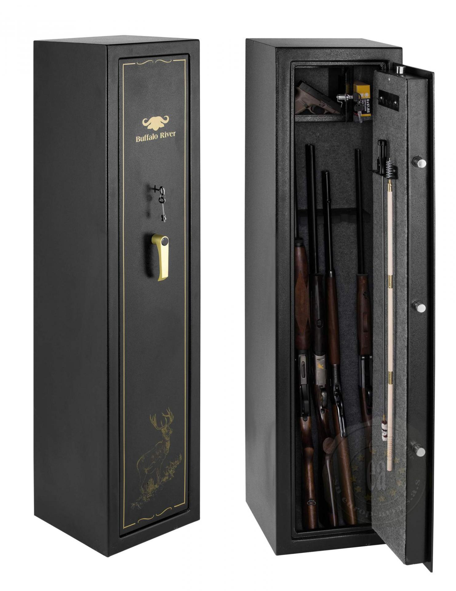 coffre fort 7 armes fusil carabine de chasse buffalo river. Black Bedroom Furniture Sets. Home Design Ideas