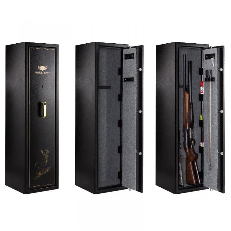 coffre fort pour arme fusil carabine et pistolet et ratelier. Black Bedroom Furniture Sets. Home Design Ideas