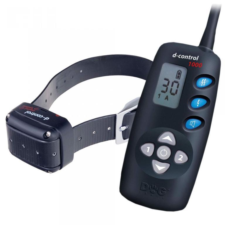 Collier de dressage électronique pour 1 chien Dogtrace D-control 1010 Plus