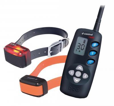 Collier de dressage électronique pour 2 chiens Dogtrace d-control 1622 +