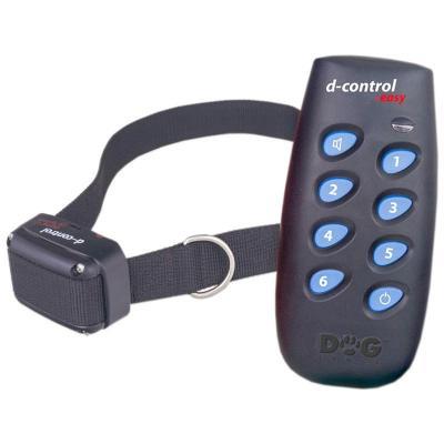 Collier de dressage électronique pour 1 chien Dogtrace D-control easy