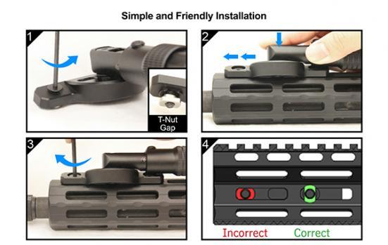 Comment instaler un magpul sur une arme