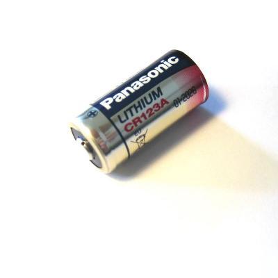 Pile au lithium CR 123 3 Volts