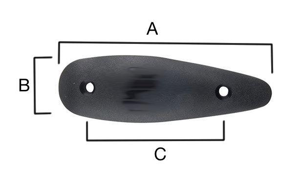Dimensions plaque de couche amortisseur