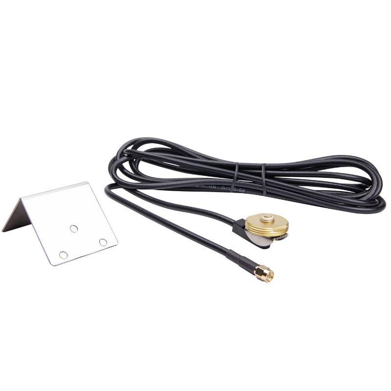 Fixation antenne de toit auto supra pour placer sur capot av 1