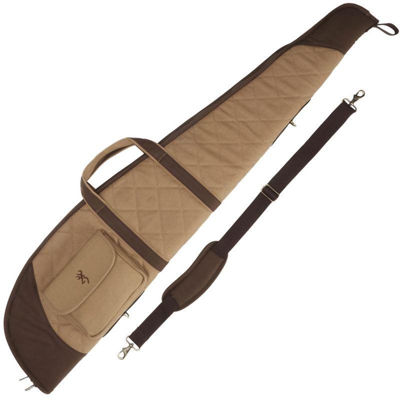 Fourreau carabine avec lunette 124 cm browning field marron