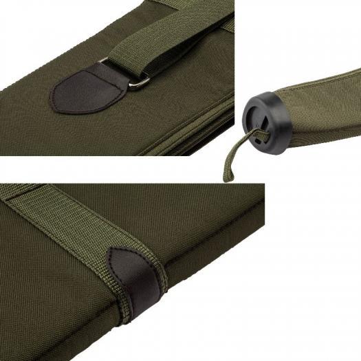 Fourreau fusil 130 cm country sellerie kaki en cordura solide2