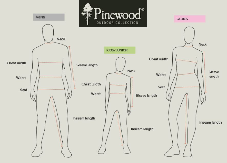 Guide de taille pinewood