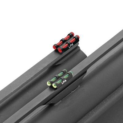 Guidon double fibre optic vert  LPA Sights