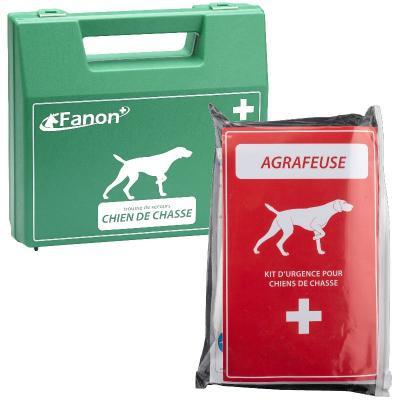 Kit Complet Agrafeuse + trousse de premiers secours pour chien