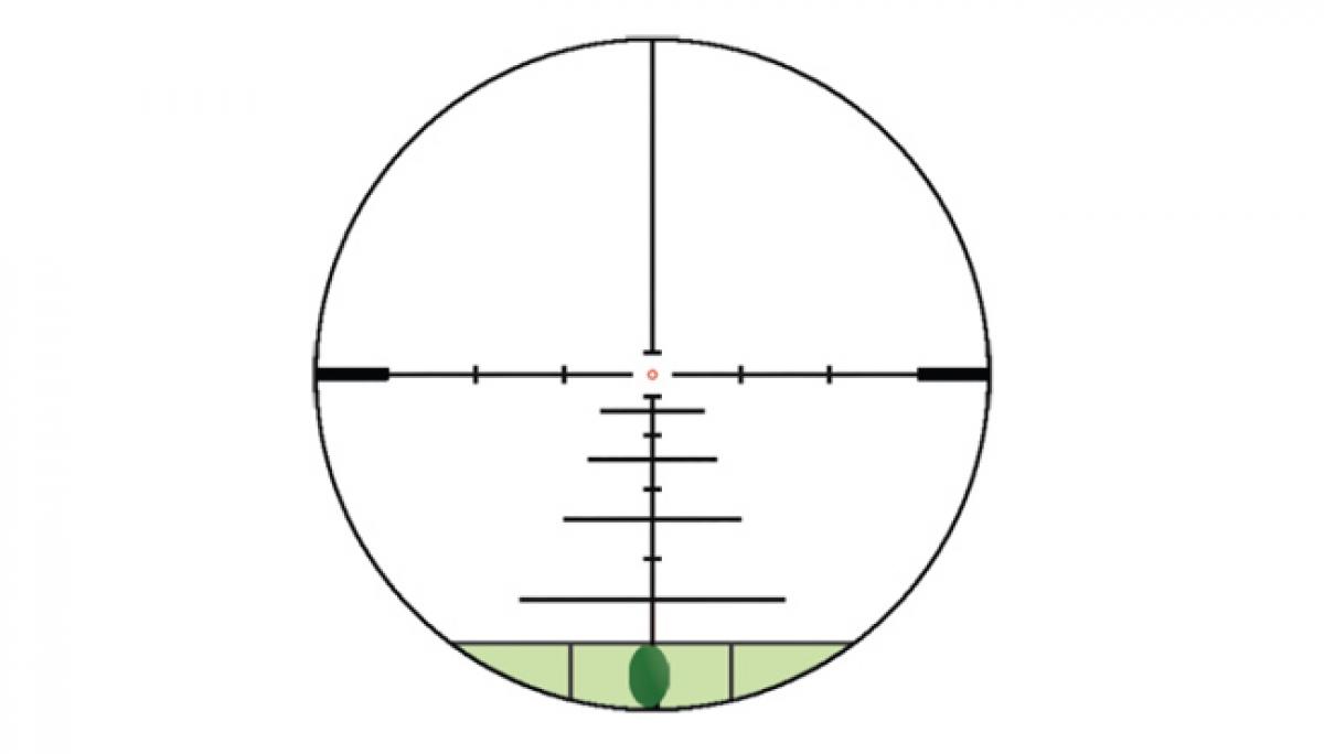 Konus reticule 550 il lumineux avec niveau a bulle
