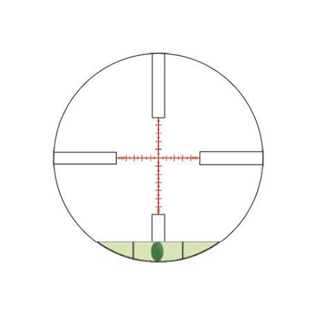 Konus reticule mil dot avec niveau a bulle
