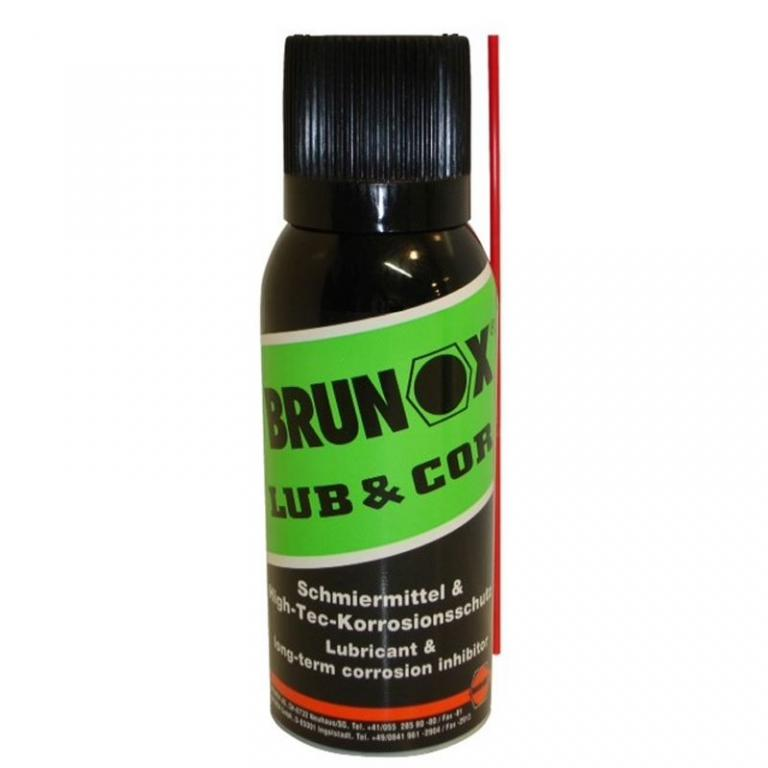 Lubrifiant Brunox Lub & Cor en aérosol 100 ml