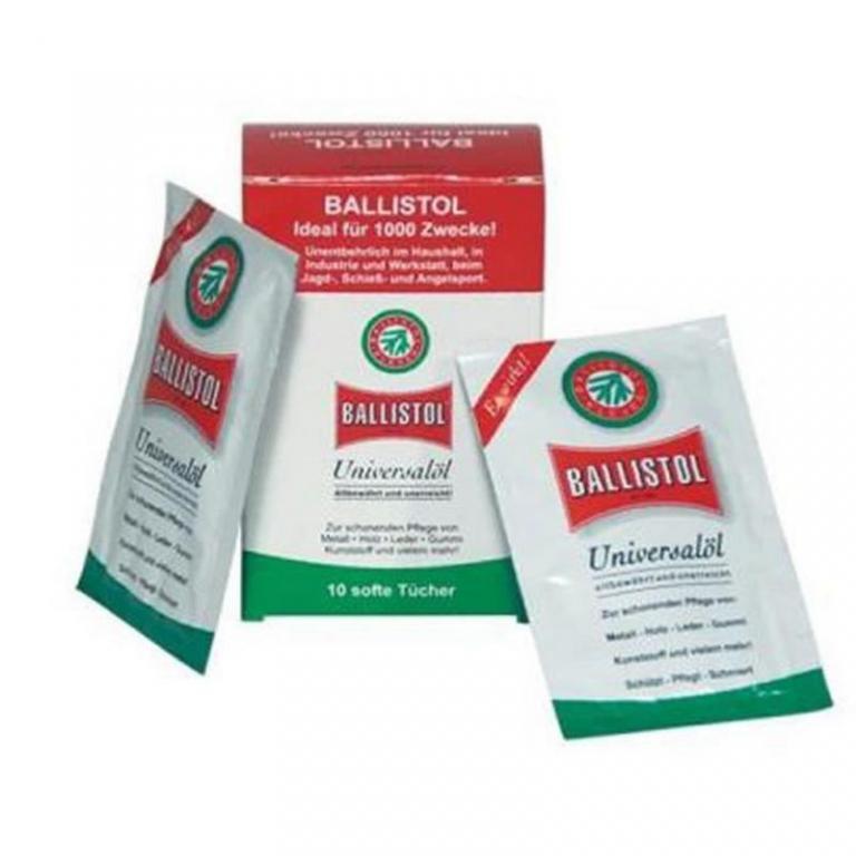 Lingette d'huile de protection Ballistol