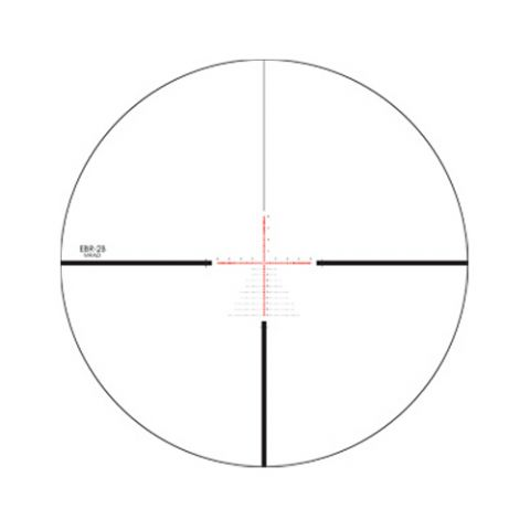Lunette 5 20x50 vortex razor hd ebr 2b mrad