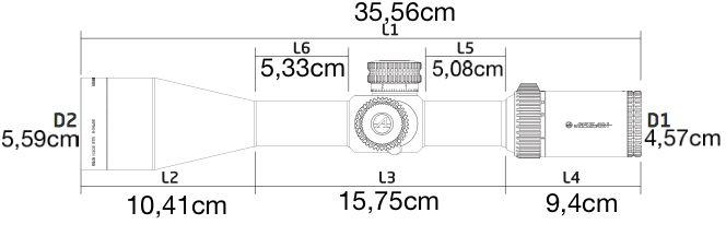 Lunette 6 24x50 athlon helos btr dimensions