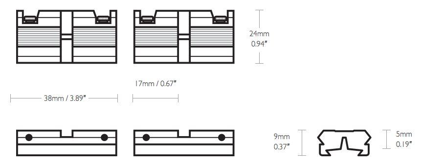 Mesure rail adaptateur