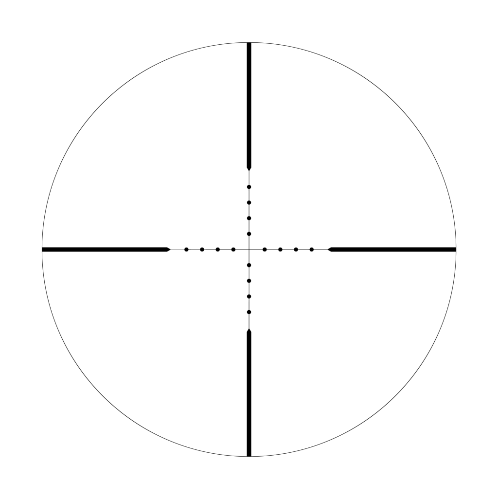 Mildot reticle 1024x1024