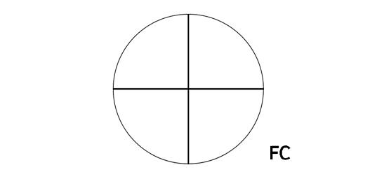 Nikon reticule fc fine crosshair