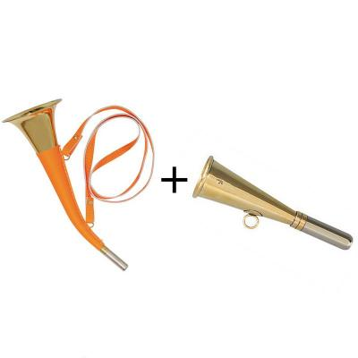 Pack 2 Trompes Verney-carron Pib Orange
