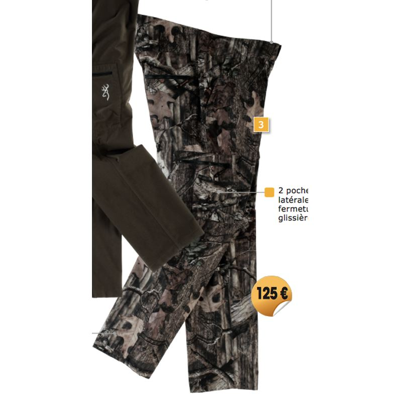 pantalon browning xpo light camo infiniti chasse pas cher. Black Bedroom Furniture Sets. Home Design Ideas