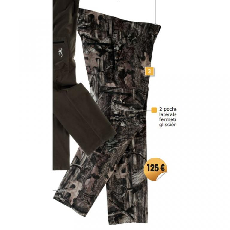 SOLDES Pantalon XPO Light Browning Taille S
