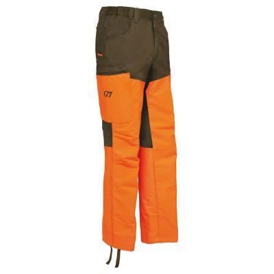 Pantalon chasse verney carron super pant vert et orange