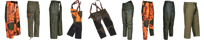 Pantalon de chasse anti ronce homme