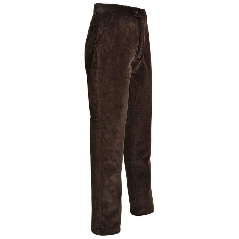 Pantalon en velours marron pas cher chez percussion country