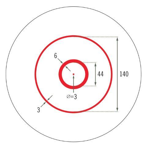 Point rouge pour ar15