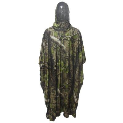 Poncho camo long Stepland