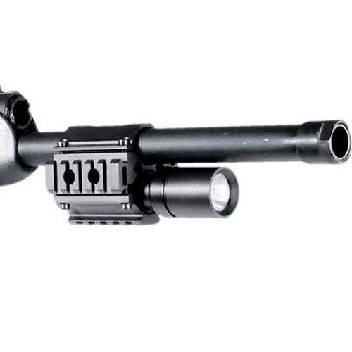 Rail pour canon de fusil à pompe