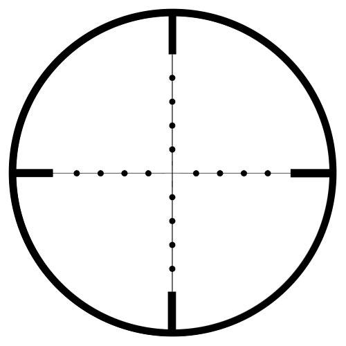 Reticule mildot de sightmark ezekiel 1 10x24