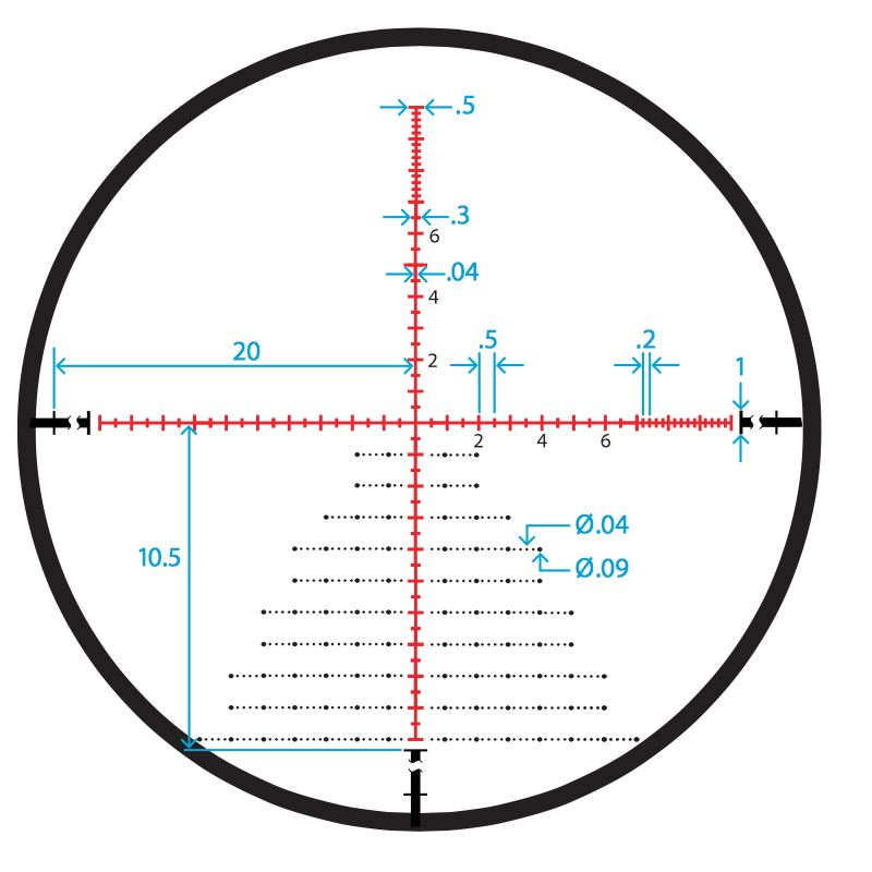 Sightmark pinnacle 5 30x50 en france belgique