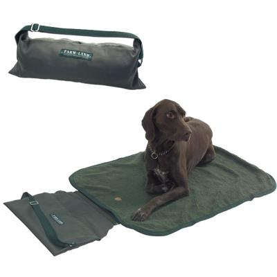 Tapis transportable pour chien